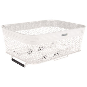 Electra Linear QR Mesh Basket Low Profile with Net white